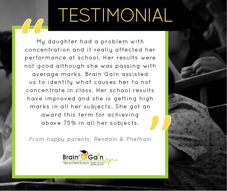 Academic Peak Performance Testimonial