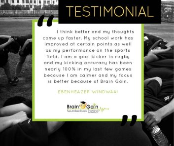 Rugby and Academics Testimonial
