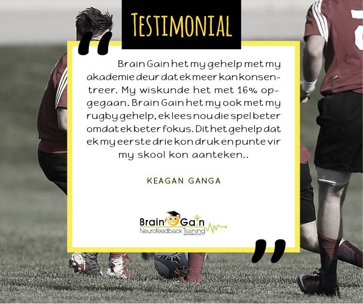 Rugby en Akademie Testimonial