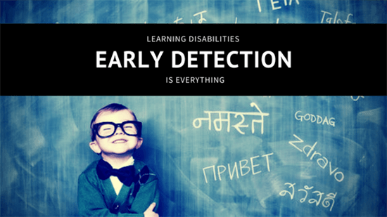 Early detection is everything