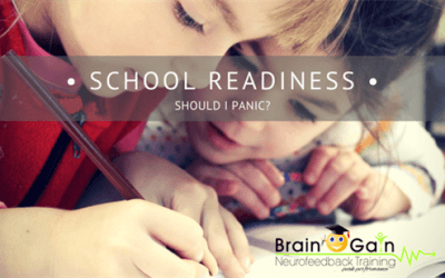 School Readiness – Should I panic?