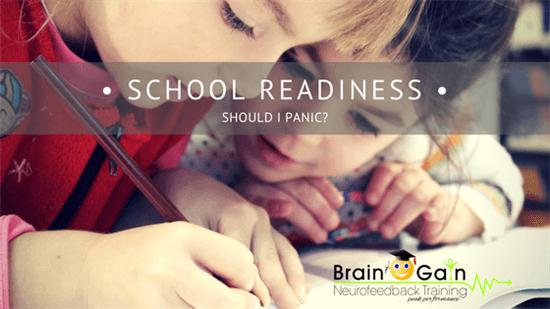 School Readiness – Should I panic?